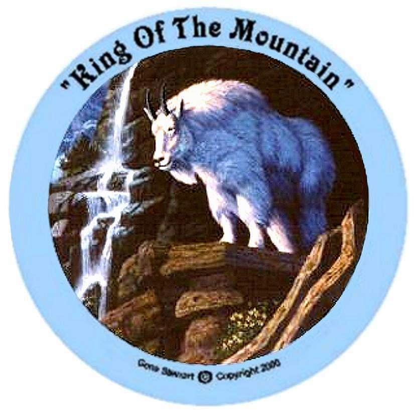 King of the Mountain, T-Shirt design