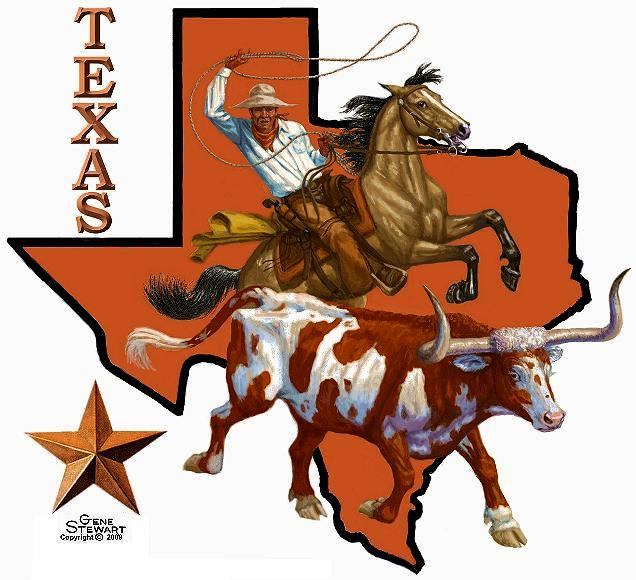 Texas Tee, T-Shirt design