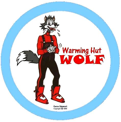Warming Hut Wolf, T-Shirt design